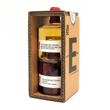 Vinaigre de Vin Blanc Vieilli + Vinaigre de Vin Rouge
