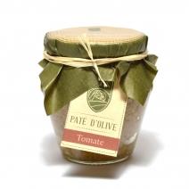 Pâte d'Olive Verte à la Tomate