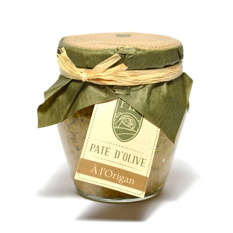 Pâte d'Olive Verte à l'Origan