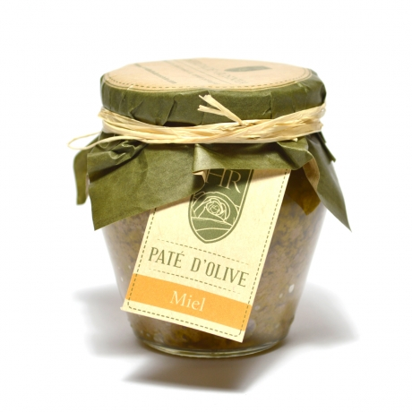 Pâte d'Olive Verte au Miel