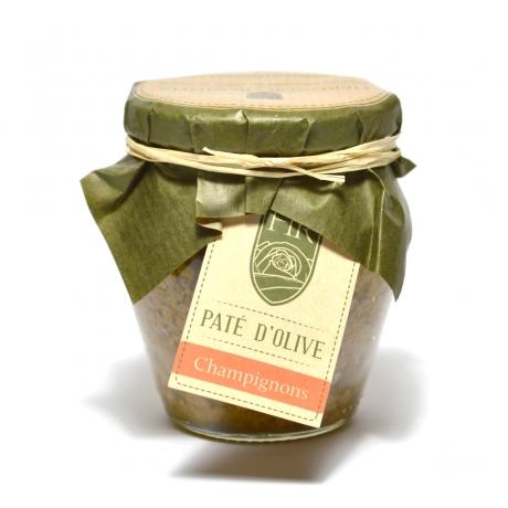 Pâte d'Olive Verte aux Champignons