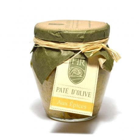 Pâte d'Olive Verte aux Épices