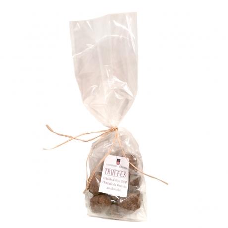 Truffes au Chocolat et à l'Huile d'Olive AOP