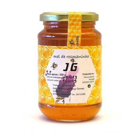 Rosemary Chunk Honey