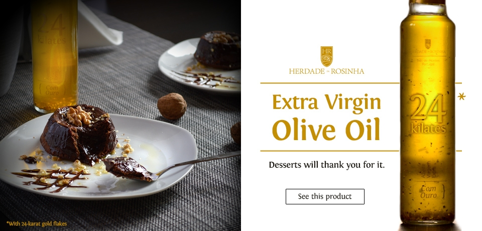 Extra Virgin Olive Oil 24-karat gold